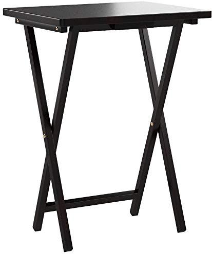 PJ Wood Folding TV Tray & Snack Table