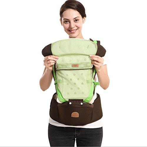 Ajustable Mochila PortaBebes Infantil del Bebé Recién Nacido Portabebes Baby Carriers Backpack