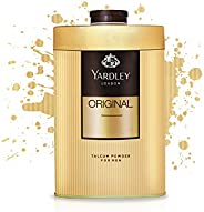 Yardley Original Classic Perfumed Talcum Body Powder , Fresh and scented all-day, 250 gm