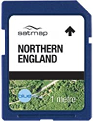 Satmap MapKarte: England Norden (Aerial 1m)
