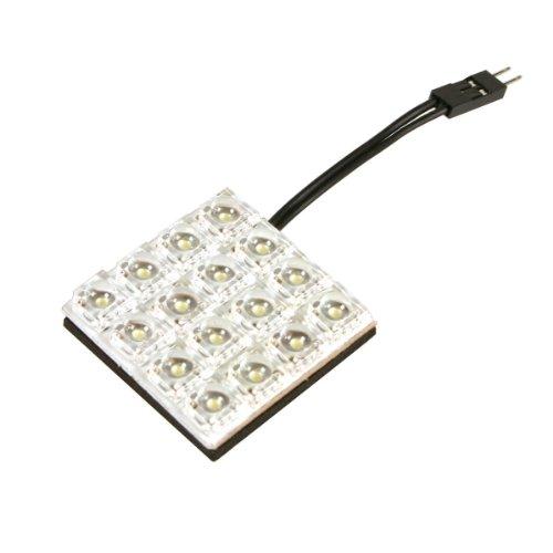 Pilot LA_58500 Hyper-LED Platinen-Lampe 35 x 35, rot, 4 x 4 LEDs (Pilot Lampe Rot)