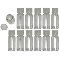 12 mini-bottiglie in plastica da 15 ml