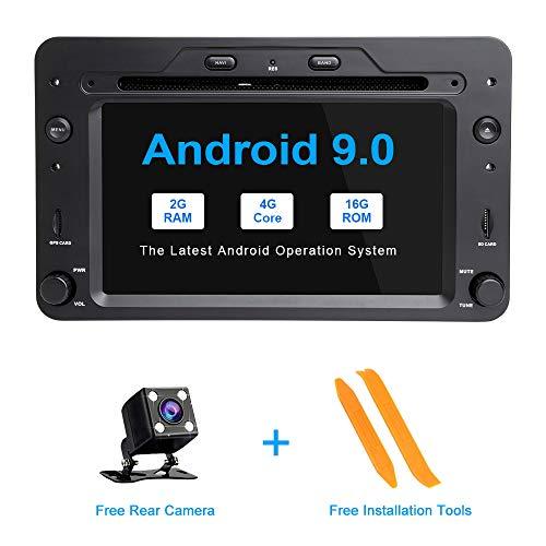 ZLTOOPAI Android 9.0 AutoRadio 2 din GPS Navigation Für Alfa Romeo 159 Brera Spider Sportwagen WiFi Stereo DVD Mulltimedia Audio - Spider Quad
