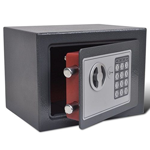 vidaXL Caja Fuerte Electrónica Digital Alta Seguridad Hogar Oficina A