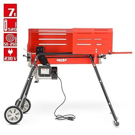 Holzspalter mit Fahrgestell, Spalter der neuen Generation – Für ein bequemes und Rückenschonendes Arbeiten – 2000 WATT…