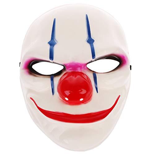 Teufel Kostüm Lustiger - Sunhoyu Halloween Maske Horror, Lustige Teufel Vollgesichtsmaske Für Maskerade Kostüm Cosplay Party