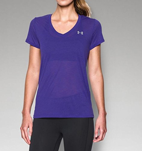 Under Armour Maglia Tecnica Tech V Deep Orchid