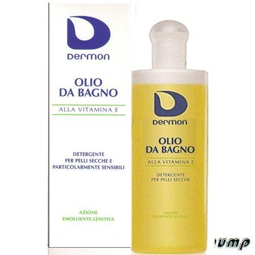 Dermon olio bagno alla vitamina E 200ml