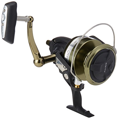 Fin-Nor Offshore Spin Angelrolle, unisex, schwarz (Offshore Spinning Reel)