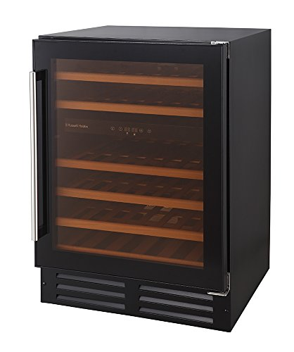 Russell Hobbs, Freestanding/Integrated, 46 Bottle Wine Cooler, RHBI46DZWC1 Best Price and Cheapest
