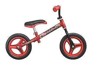 TOIMSA-Bicicleta sin Pedales para niños bajo Licencia Cars 10Pulgada (de 2a 3años, 106u