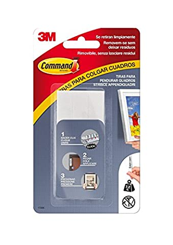 Command 17206 Bande adhésive pour cadres Modèle L Charge max