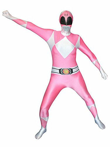 Power Rangers Morphsuit Lizenzware pink L
