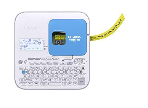 CASIO EZ-Label Printer KL-G2 Beschriftungsgerät professionell mit USB Schnittstelle,  für Schriftbänder 6 / 9 / 12 / 18 / 24 mm, inkl. Netzteil