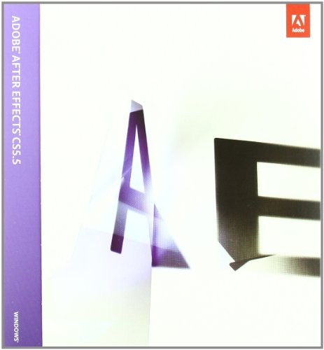 After Effects CS5.5 10.5 windows EU English Retail