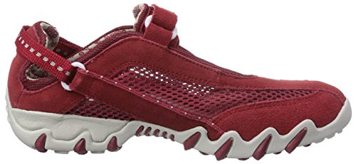Allrounder by Mephisto Niro, Baskets mode femme Rosso (Rot (RED/RED))