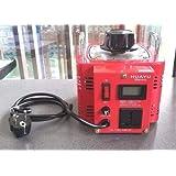 Transformateur de r/églage avec /écran num/érique LCD 3000 W 12 A Transformateur//transfo variable//toro/ïdal auto-transformateur