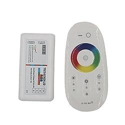 JOYLAND DC 12V 24V 2.4G 3 Kanäle Touch Screen Controller RF Fernbedienung Steuerung für 5050 3528 RGB LED Streifen Licht
