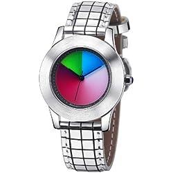 Rainbow Watch Unisex Wristwatch Elegancia Classic EL47A-B-GS-cl