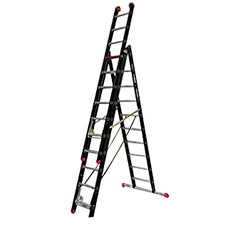 Altrex 0000403Aluminium Ladder for Industrial Use, Mounter, Number of Steps: 2x 14