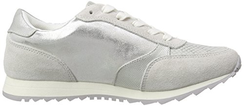 Dockers by Gerli 38ml203-207 Damen Sneakers Silber (silber/grau 552)