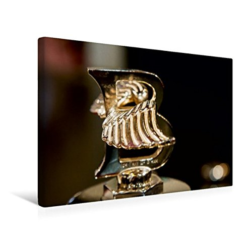 Premium Textil-Leinwand 45 cm x 30 cm quer, Bentley Kühlerfigur | Wandbild, Bild auf Keilrahmen, Fertigbild auf echter Leinwand, Leinwanddruck (CALVENDO Mobilitaet) (Bentley-kühlerfigur)