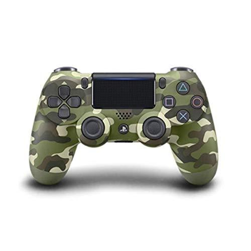 LIDIWEE Manette pour Ps4 sans Fil Controleur de Jeux Bluetooth Dual Shock-Vert Camouflage
