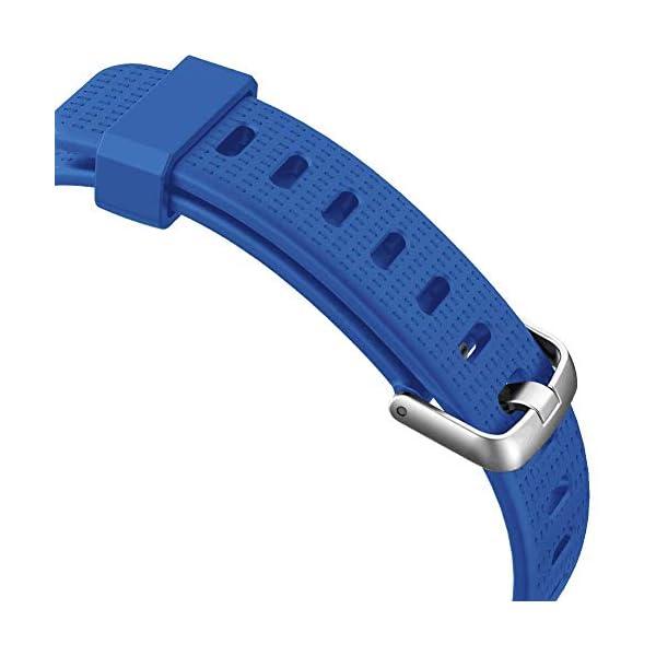 Correa para ID 130 Plus Color HR, Rastreador de Ejercicios Pulsera, Recambio Repuesto Reemplazo Banda de Reloj Ajustable para Fitness Tracker ID130 Plus 4