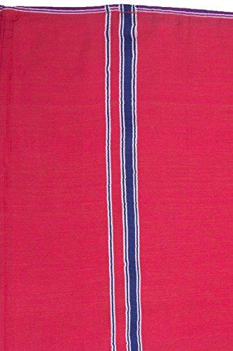 Handgewebter Unisex Sarong Rock, blickdicht, aus Baumwolle (Schlauch-Form), 204x112 cm Design 1