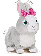 Idea Regalo - IMC Toys Betsy Club Petz 95861IM3 Coniglietta Paurosa, Colore Grigio