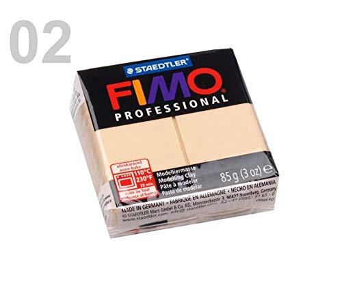 1pc 2 02 Desnudo FIMO Professional 85g