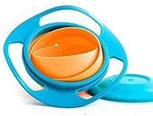 Baybee Premium Quality Gyro- Magic Feeding Bowl with 360° rotation