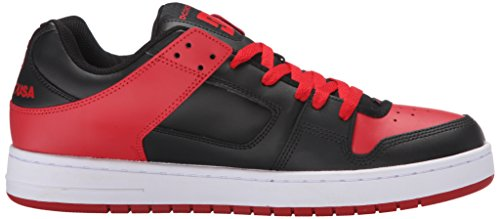 DC Skateboard Shoes MANTECA RED/GREY schwarz/red