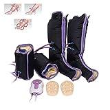 Massaggiatore a compressione ad aria per gambe e gambe, con confezioni elettroniche di circolazione per terapia caviglia e alba.