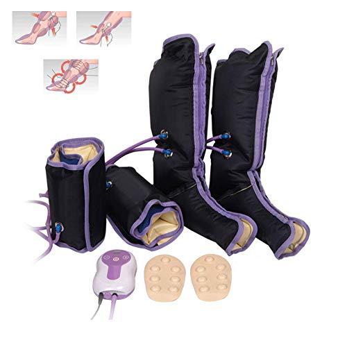 Aire de compresión de pierna masajeador de eléctrico zirkulations de pierna Embalajes para tobillo de pie de ternera Terapia
