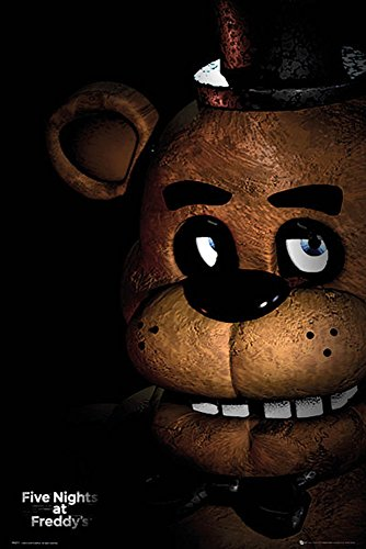 Empireposter 745545 Five Nights at Freddys – Fazbear – Game Poster Video Game Poster Size 61 x 91.5 cm Paper Multi-Coloured 91.5 x 61 x 0.14 cm