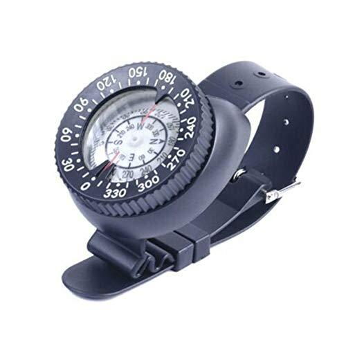 SADA72 Tauchkompass, professioneller Tauchkompass, Tauchkompass, Tauchkompass, Deluxe-Handgelenk-Kompass, Navigation, leicht, Schwimmen, Tauchen, Kompass, Handgelenk montiert, Wassersport -