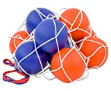 Betzold 100149 - Softball-Set - 10 Schaumstoffbälle im Ballnetz, 16 cm Spielball, wasserabweisend