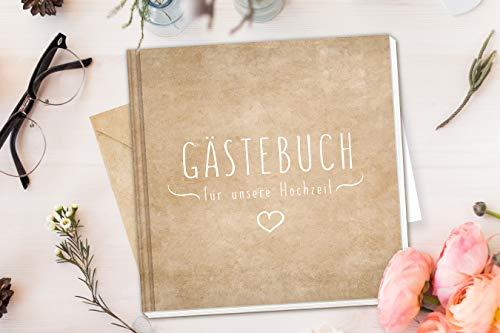 Blanko Hardcover Gästebuch - 6