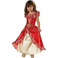 Disney - Disfraz de Elena de Avalor Deluxe para niña, infantil 5-7 años
