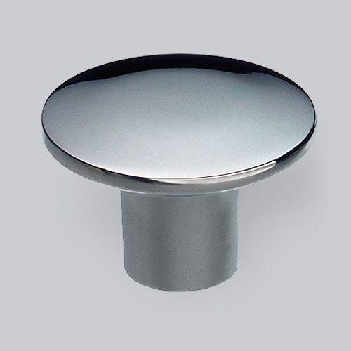 Schwinn Möbelknopf Metall 35-2022, D 32 mm chrom glänzend (Glänzende Möbelknöpfe)