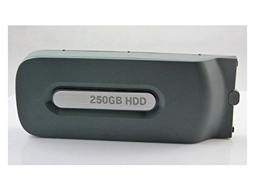 Althemax® Kit 250GB 250G Disque dur externe Disque dur pour la console Xbox 360 d'origine Jeu Vidéo