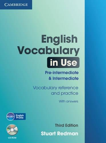 English Vocabulary In Use. Pre-intermediate And Intermediate (with Answers and CD-ROM) -...