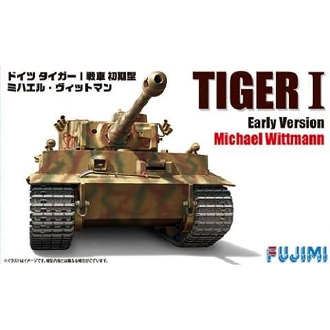 1/72 tanque alemaen del tigre de tipo I de tipo inicial Michael Wittmann