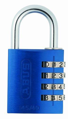 Abus 145/40 AZUL B - Candado aluminio combinacion 40mm 4 dígitos azul