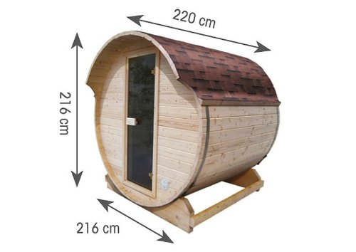 Karibu Fass – Sauna - 2