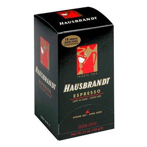 Hausbrandt Espresso Pads / ESE Pads, 18 Stück, 126 g