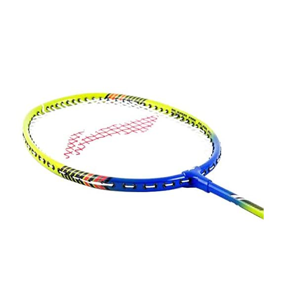 Li-Ning Smash XP 810 Badminton Racquet, Size S2 (Green/Blue)