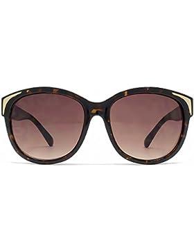 French Connection Übergroße Retro-Sonnenbrille im Gradient Brown FCU635