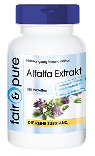 alfalfa-extract-medicago-sativa-in-pure-form-no-additives-or-excipients-180-vegetarian-tablets